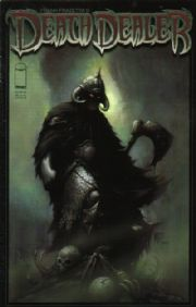 Death Dealer #5 Nat Jones Cover B Frank Frazetta